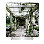 Out To The Garden Shower Curtain