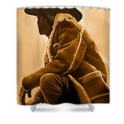 Out West Shower Curtain by Corey Ford
