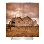 Outback Farmhouse Shower Curtain