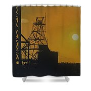 Outback Mines Shower Curtain