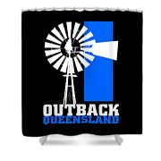 Outback Queensland 2 Shower Curtain