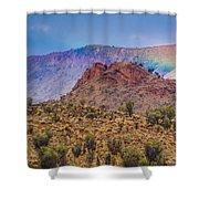 Outback Rainbow Shower Curtain