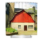Outbuilding. Germany Shower Curtain