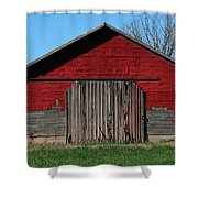 Outbuilding Shower Curtain