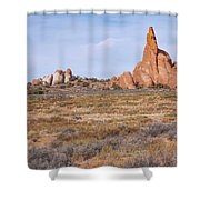 Outcroppings Shower Curtain
