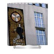 Austrian Outdoor Art Shower Curtain