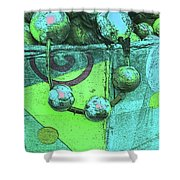 Outdoor Decorations Shower Curtain