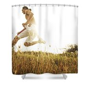 Outdoor Jogging II Shower Curtain