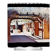 Santa Fe Branches Art At The Shops Shower Curtain