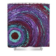 Outer Bands Shower Curtain