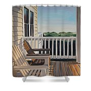 Outer Banks Morning Sun Shower Curtain