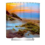 Outer Banks Soft Dune Sunrise Fx2 Shower Curtain