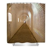 Outer Scarp Of Ft Barrancas Shower Curtain