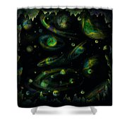 Outer Space Dreams Shower Curtain