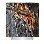 Outhouse Holzworth Historic Site Shower Curtain