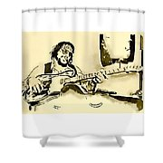 Outlaw Shower Curtain