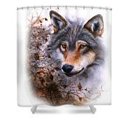 Outlawed Tee Shower Curtain