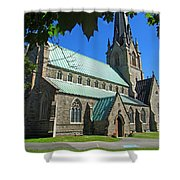 Outside Christ Church Cathedral 1 Shower Curtain