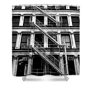 Outside Stairs Shower Curtain