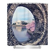 Outside Your Door Shower Curtain
