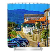 Outskirts Of Valenca Shower Curtain
