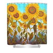 Ovation Sunflowers Shower Curtain