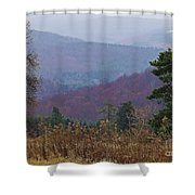 Over And Over And Over Shower Curtain