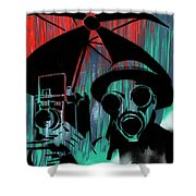 Over Exposure Shower Curtain