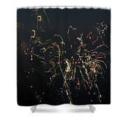 Over Fort Lee Shower Curtain