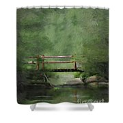 Over Still Waters Shower Curtain