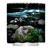 Over The Falls Shower Curtain