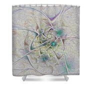 Over The Hill And Dale Shower Curtain