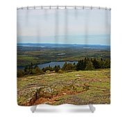 Over The Horizon Shower Curtain