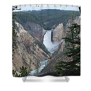 Over The Rail Shower Curtain