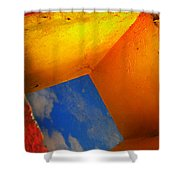 Over The Rainbow Shower Curtain