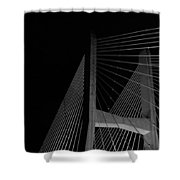 Over The Waters Shower Curtain