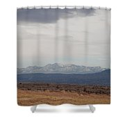 Overcast On The Sandias Shower Curtain