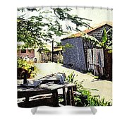 Overdene  Shower Curtain