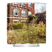 Overgrown Fall Garden Shower Curtain