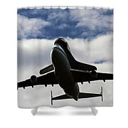Overhead Discovery Shower Curtain