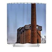 Overholt Stack Shower Curtain