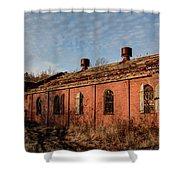 Overholt Sunset Shower Curtain