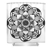 Overlay Shower Curtain