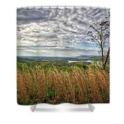 Overlook At Talking Rock Creek Shower Curtain