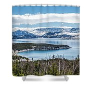 Overlooking Norris Point, Nl Shower Curtain