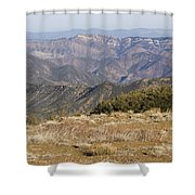 Overlooking Santa Paula Canyon Shower Curtain