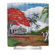 Overlooking The Cliff Shower Curtain