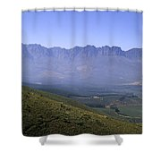 Overlooking Vineyards Shower Curtain
