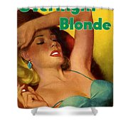 Overnight Blonde Shower Curtain