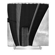 Overpass Shower Curtain